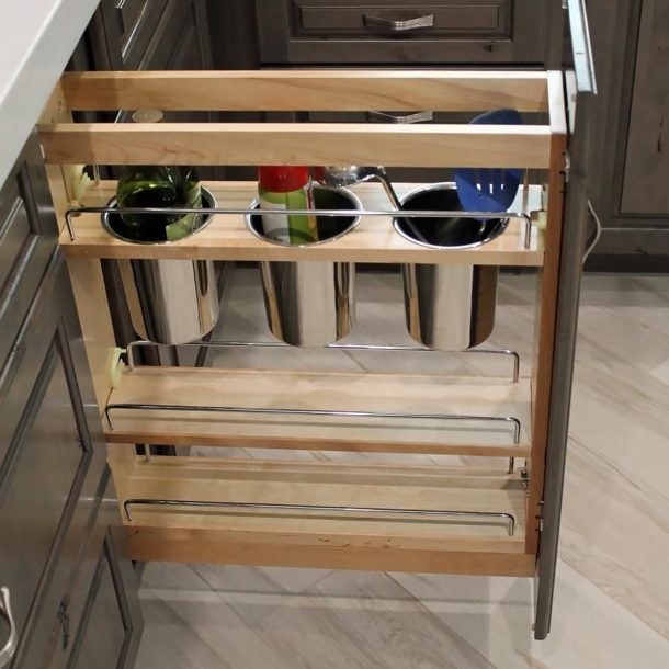 Scottsdale Kitchen Remodel utensil storage