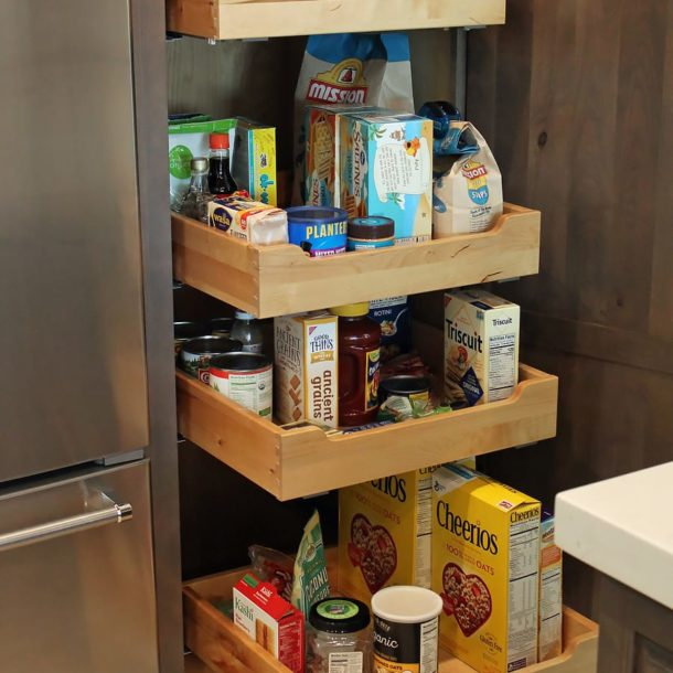 Scottsdale Kitchen remodel pantry storage