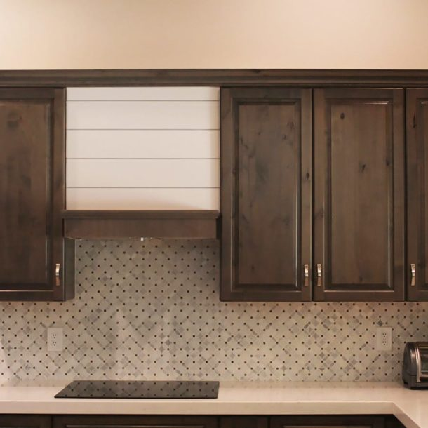Scottsdale kitchen remodel tile backsplash